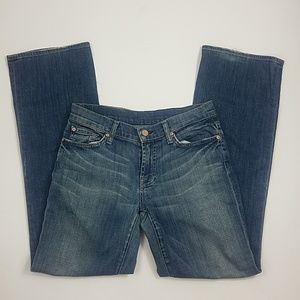 7 For All Mankind bootcut sz27 P228S376S-376S